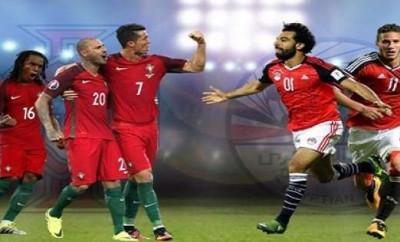 """خطأ """"فادح"""" في ستوديو تحليل مباراة مصر والبرتغال"""